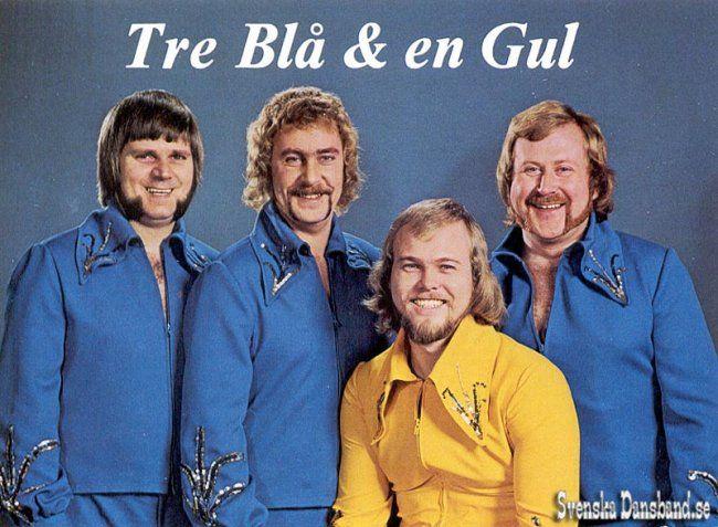 Tre Blå & en Gul