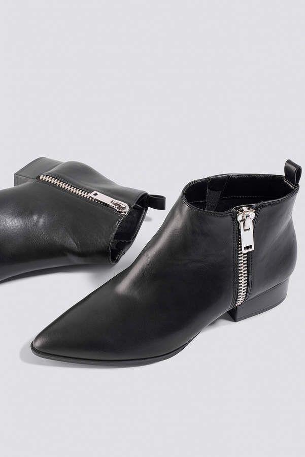 86444e408a2 MANGO Pau Ankle Boots Black  Pau MANGO Ankle