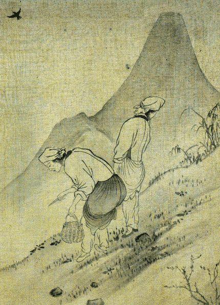 Yun Duseo-Women Picking Edible Plants - Yun Du-seo - Wikipedia, the free encyclopedia