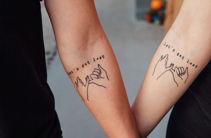 Pinky Promise Tattoos: Maybe Just The Pinky Promise