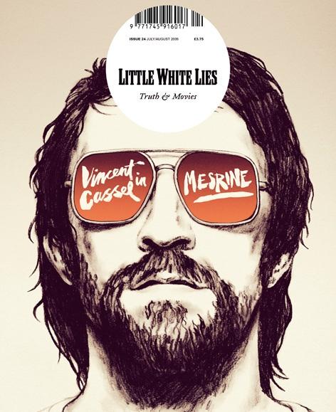 """Little White Lies mag """"Mesrine"""" cover"""