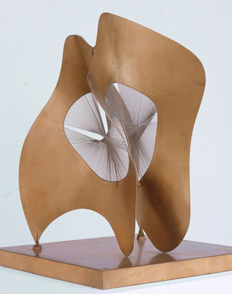 Naum Gabo KBE, born Naum Neemia Pevsner was a prominent Russian sculptor in the Constructivism movement and a pioneer of Kinetic Art.