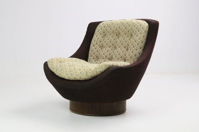 Online veilinghuis Catawiki: Ontwerper onbekend - lounge fauteuil uit de jaren 60's