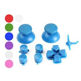 ensemble de boutons de remplacement personnalis s pour manette ps3 assortiment de couleurs - Manette Ps3 Color