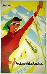 region jungfrau poster 1950