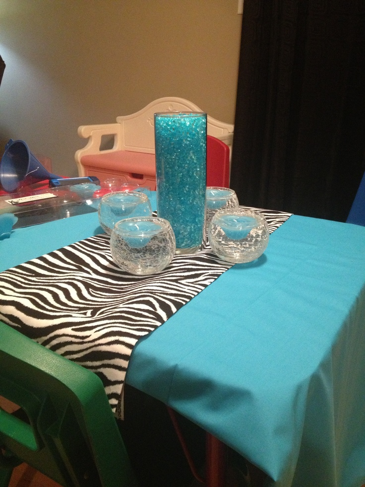 Sweet 16 Centerpiece All Of The Vases As Well As The