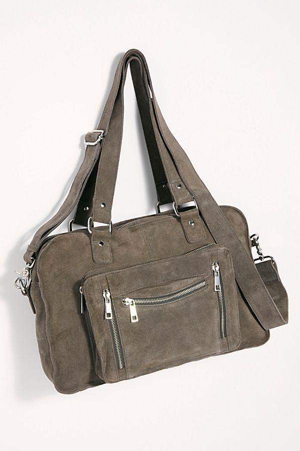6cc1a6e418 Nunoo Millie Suede Tote - Gray Suede Tote Bag - Gray Suede Nunoo Bags -  Gray Nunoo Bags - Nunoo Bags - Suede Purses - Gray Suede Bags - Nice Suede  Purses