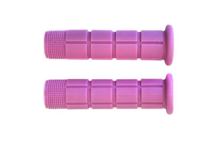 Sun FX Stuur handvaten - Roze  Sun FX Fietsstuur handvaten:  Flat Bar Mountain handvaten.  Soft Rubber.  130mm lengte.  EUR 4.90  Meer informatie