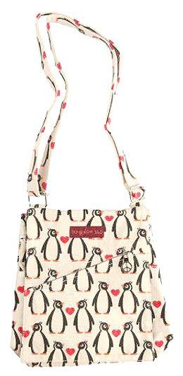 Small Penguin Messanger Bag I WANT!