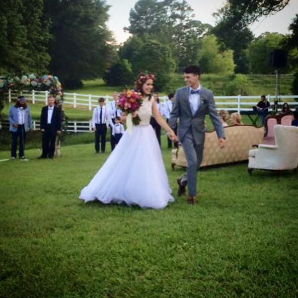 John Luke and Mary Kate Robertson Wedding <3