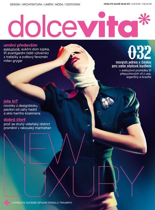stanislav petera: Fashion / Advertising photographer / fashion / dolce vita* 2009/10 - cover