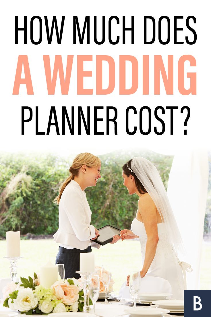 Weddings don't come cheap -- and neither do wedding planners. The cost of a wedding planner varies wildly, based on if you want a full-service planner or a day-of-wedding planner and, of course, the overall budget of the wedding. Find out if a wedding planner is what you need for your big day!  Photo credit: oliveromg/Shutterstock.com