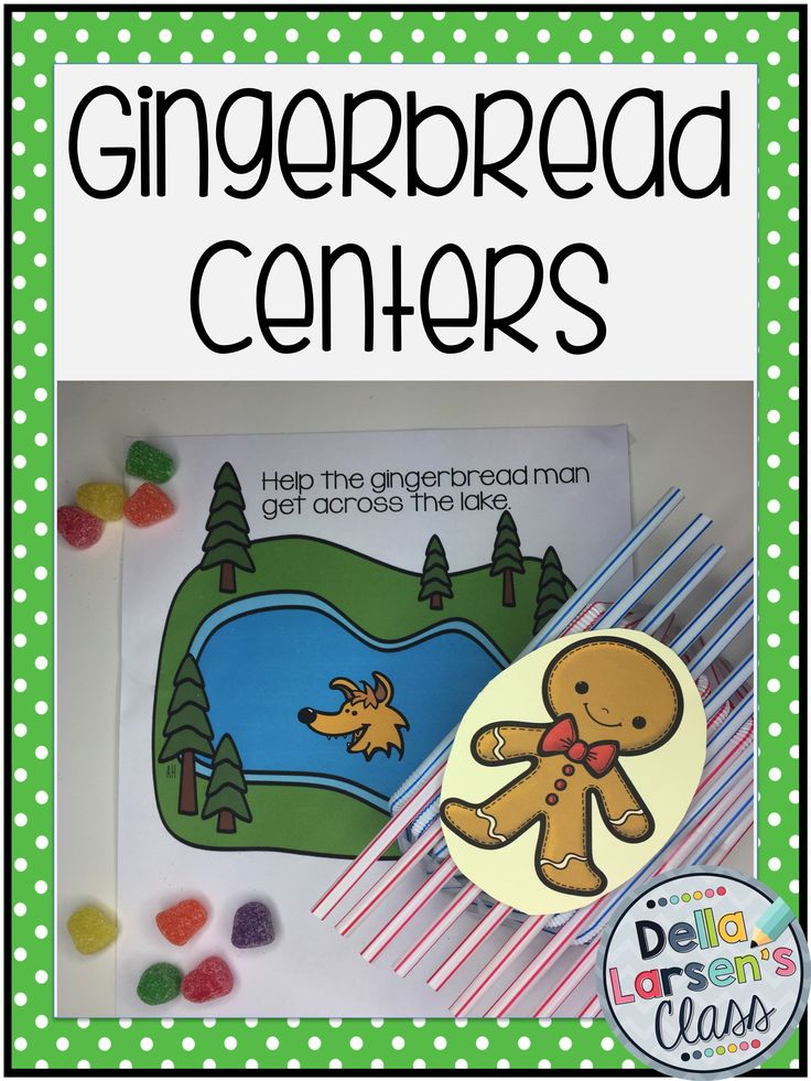 Do you need some ideas for your gingerbread unit. Get ideas for math, literacy, STEM, and art. These centers are perfect for your December Christmas or holiday activities