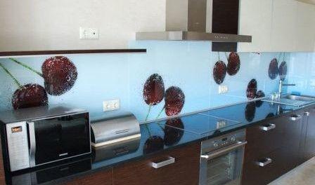 Ставим стеклянный фартук на кухню » Цветик-семицветик