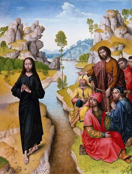 Баутс, Дирк (последователь) - Проповедь Иоанна Крестителя.