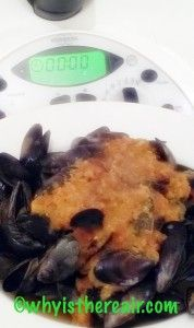Curried Mussels in the Varoma