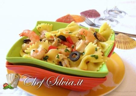 Insalata di pasta ai frutti di mare - Seafood Pasta Salad Recipe