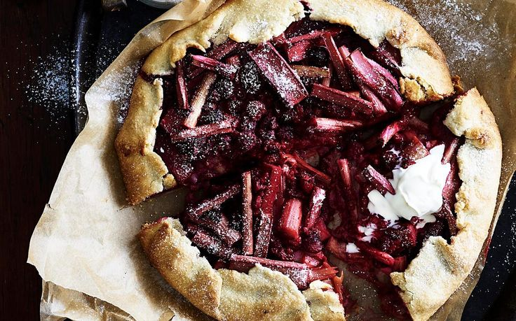 With our homemade crostata dough and a sweet rhubarb and raspberry filling, this impressive tart is as delicious as it is pretty and just as easy to make! Best served with a dollop of cream or ice-cream. Recipe by the Australian Women's Weekly.