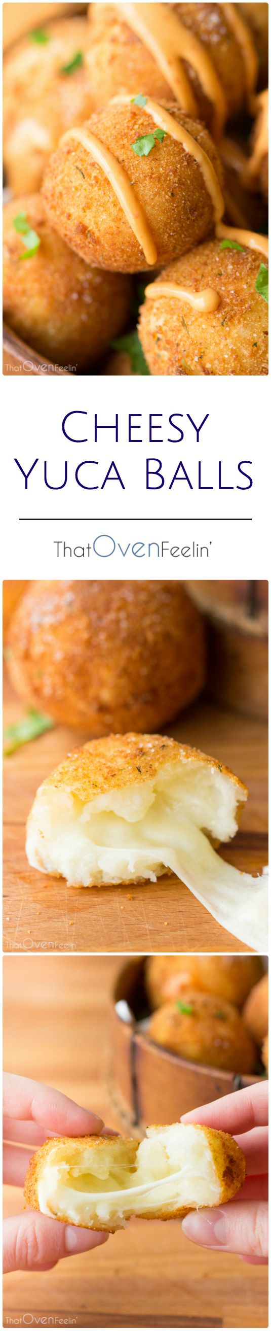 OMGoodness i so need this in my life!!! Cheesy Yuca Balls with a Chipotle Mayo