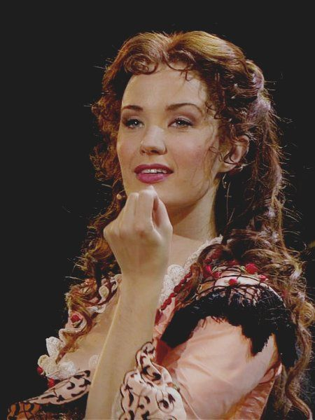 Sierra Boggess as Christine in The Phantom of the Opera 25th Anniversary at the Royal Albert Hall.