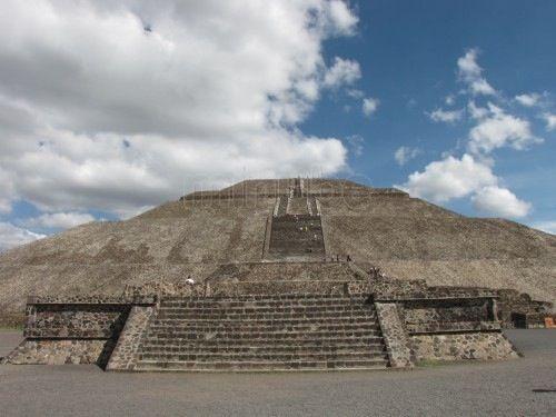 Pirámide del Sol, Teotihuacan, México