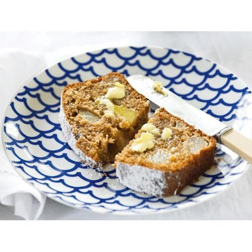 Spicy pear loaf recipe - By FOOD TO LOVE, Spicy pear loaf can be iced for a sweet treat or served warm with lashings of butter.