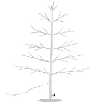 Albero Decorativo Luminoso 60 cm Per Interni 51 LED Ecologico Decorazioni Casa