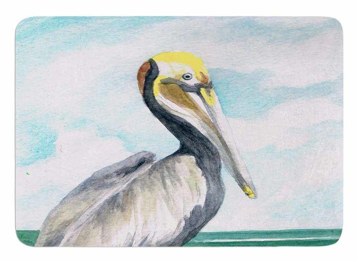 Pelican by Rosie Brown Bath Mat