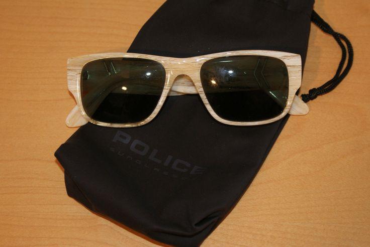 "Original Nineties Woman Sunglasses ""Vogart"" by Police White Ivory Original Bag Occhiali da Sole Donna MOD 520 COL 090 Vintage Bianco Avorio di BeHappieWorld su Etsy"