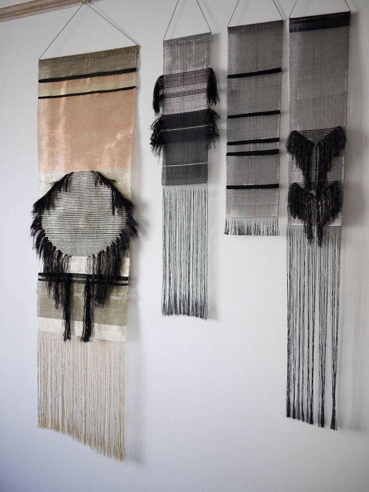 Es muy guapo para hacer de este colgante de pared de tejido - Blog de moda