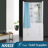 HS 1102B Bathtub For Disabled/walk In Tub Shower Combo/bathtub With Door