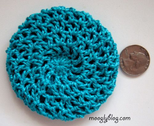 online shopping clothes All Too Perfect Crocheted Hair Bun Cover  free pattern on mooglyblogcom  crochet