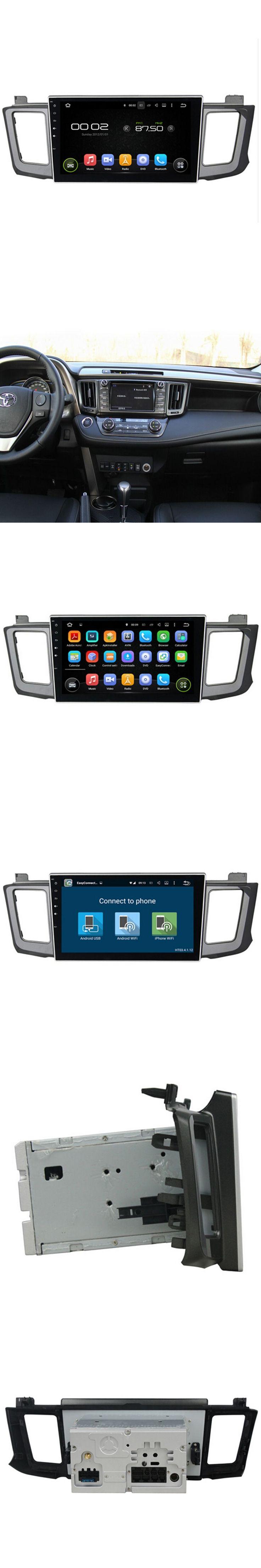 For 1024*600 Android 5.1.1 Quad Core 16GB Car Radio For Toyota RAV4 2012-2015 DVD Navigation Steering wheel control OBD wifi USB