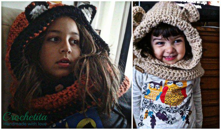 Crochet Hoodedcowl