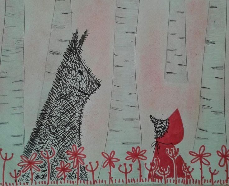 Cappuccetto (lupetta) rosso