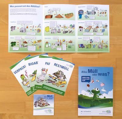 materialwiese: KOSTENLOS: Material zum Thema Müll in der Grundschule