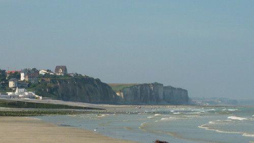 La plage de Quiberville http://dieppe.rando.caux.over-blog.com/