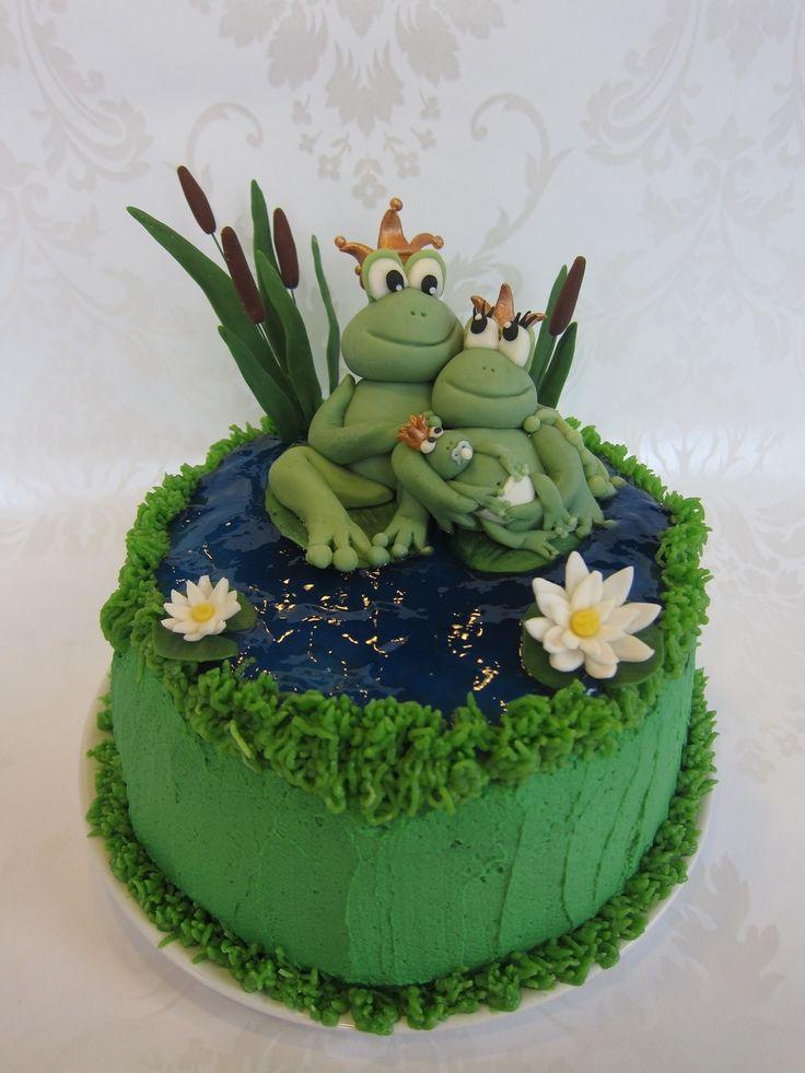 Frog on Cake Central