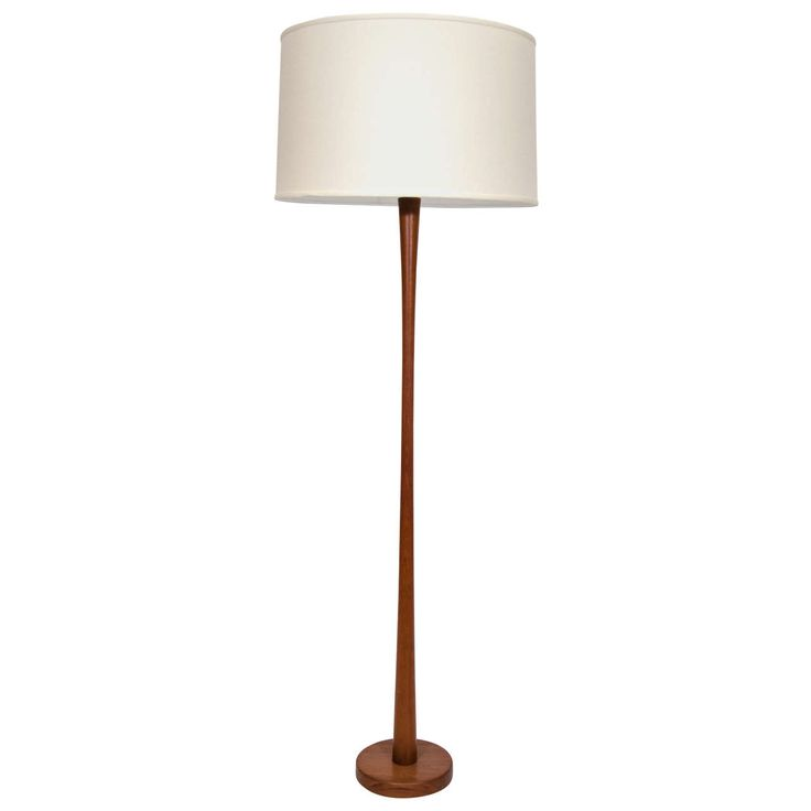 Tall Teak Danish Floor Lamp | From a unique collection of antique and  modern floor lamps