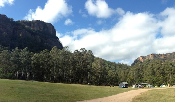Newnes - No bookings. Approx. 3hrs drive. Wollemi NP.