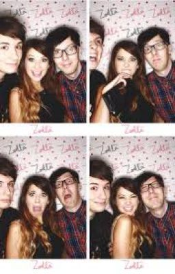 #wattpad #fanfiction This is before Zoella meet's Alfie. She is living with Dan and Phil.     Dan:  I am walking through my apartment to the living room, and I hear my newest roommate crying,