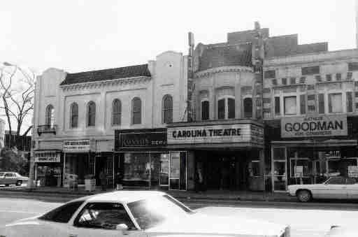 Carolina Theatre in 1970. BofA recently pledged $5 million to restoration efforts. Foundation for the Carolinas hopes to turn the boarded-up theatre on North Tryon Street into a civic meeting hall. #CLT #QueenCity #HistoricCharlotte Photo courtesy of Retro Charlotte: Movie Theatres of Charlotte