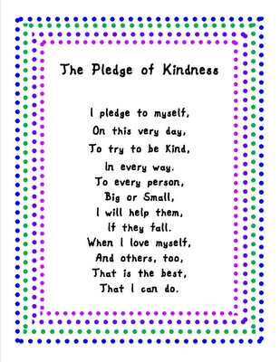 pledge of kindness Best Practices 4 Teaching--Sharing Educational Successes