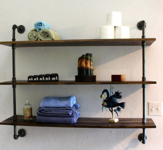 wall shelving units wooden wall shelf handmade home decor rustic industrial 28105
