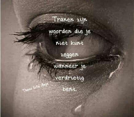 Tranen...; emotionele kwetsbaarheid, nog een vaak aanwezig symptoom van een extra X-chromosoom