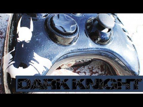 | The Dark Knight | Heat Sensitive Paint Job by ProModz.com | Custom Xbox 360 Controller |