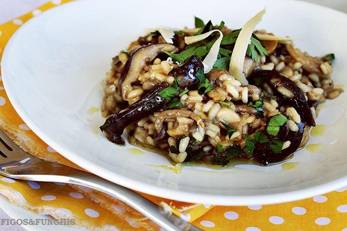 Risoto de Cogumelos | Blog Figos & Funghis