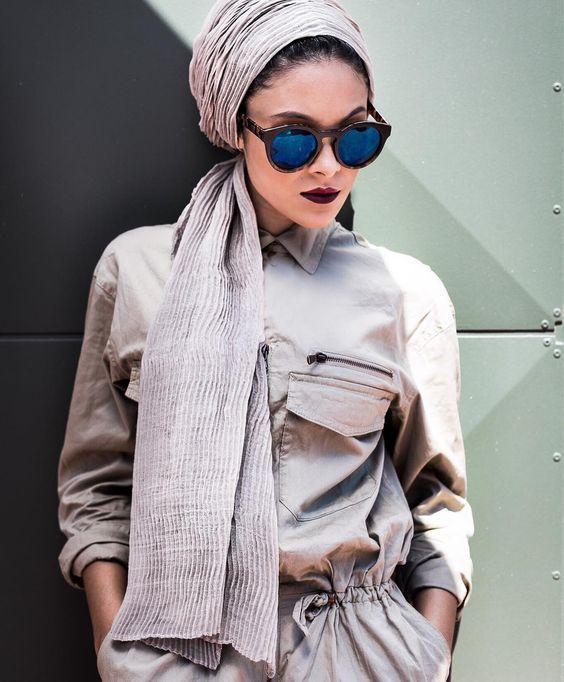 Turban fashion in many looks http://www.justtrendygirls.com/turban-fashion-in-many-looks/