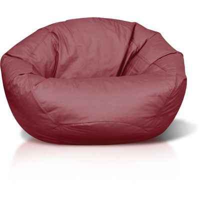 Classic Bean Bag Chair Color: Black - http://delanico.com/bean-bag-chairs/classic-bean-bag-chair-color-black-589228562/