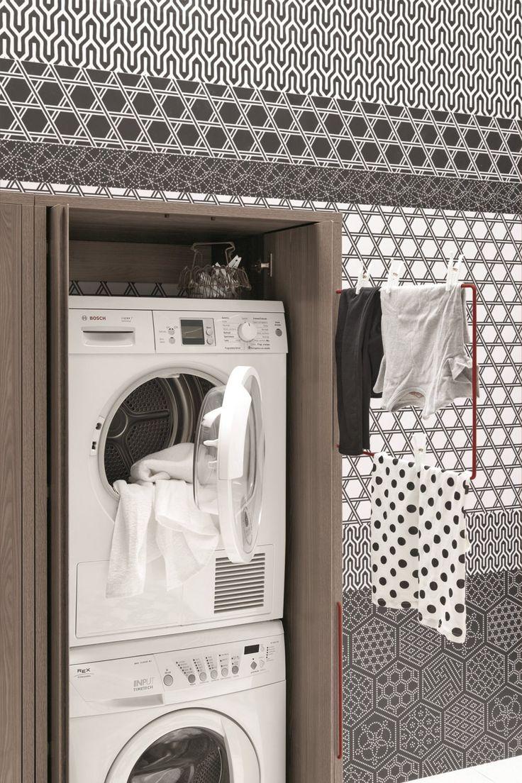 ACQUA E SAPONE   Прачечная шкафы by Birex   дизайн Monica Graffeo